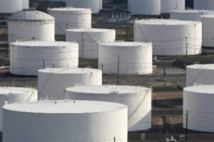File Photo of Heating Oil Large Storage Tanks, adapted from image at energy.gov