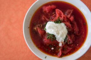 Borscht file photo adapted from image featured by peacecorps.gov