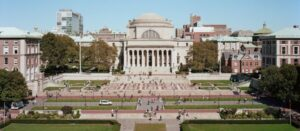 Columbia University Library and Main Campus file photo, adapted from image at bnl.gov