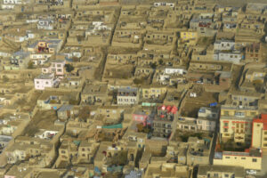 File Photo of Kabul, Afghanistan, Residential Area, adapted from image at defense.gov